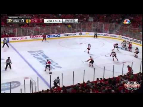 Chicago Blackhawks vs Anaheim Ducks. PlayOff NHL 2015