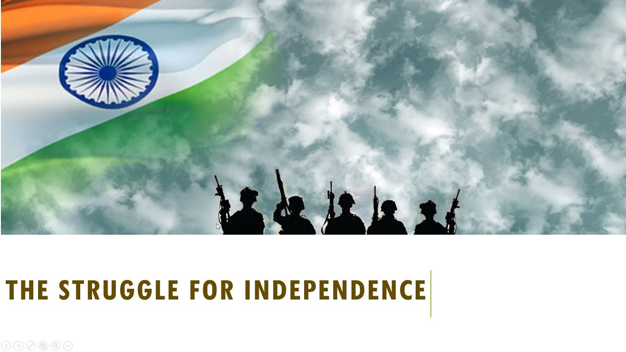 Indias Struggle For Independence Ebook