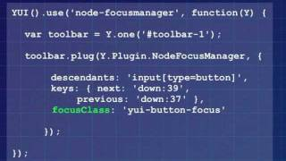 Todd Kloots: Building Accessible Widgets with YUI 3
