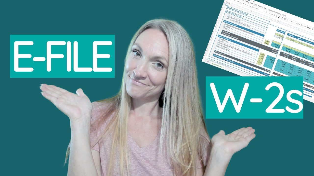Download How Does an Employer File Form W2 Online {& free payroll spreadsheet template!}