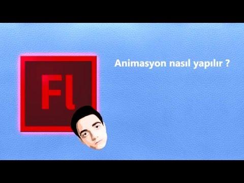 Adobe Flash Professional CS6 - Basit Animasyon Teknikleri(Türkçe)