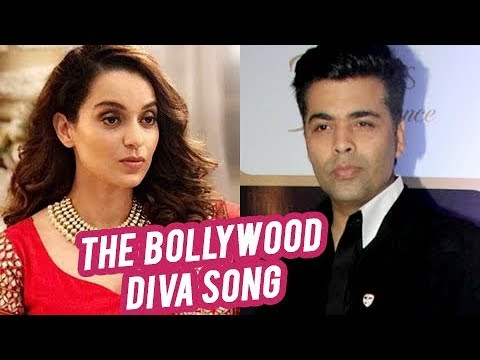 Karan Johar's REACTION On AIB feat. Kangana Ranaut - The Bollywood Diva Song