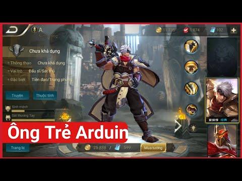 Tướng mới MAX TRÂU BÒ ông nội của Arduin - 1 cân thiên hạ | Vương Giả Vinh Diệu