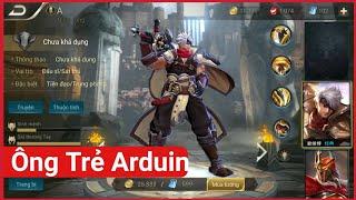 Tướng mới MAX TRÂU BÒ ông nội của Arduin - 1 cân thiên hạ   Vương Giả Vinh Diệu