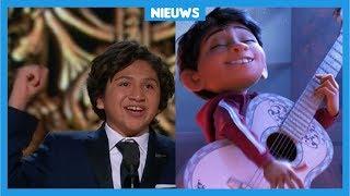 Anthony (12) wint Oscar met film Coco