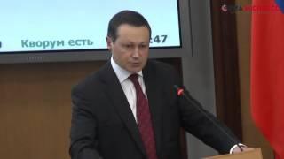 Вопрос Сергея Толмачева мэру Эдхаму  Акбулатову Сессия 29 марта