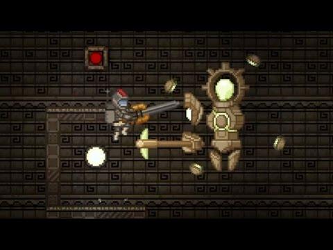 Vault Guardian Fight - Starbound - YT