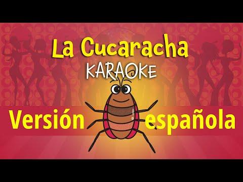 La Cucaracha [Versión española para niños] (video con letra para karaoke)