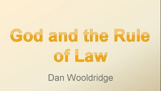 CLF God And the Rule of Law