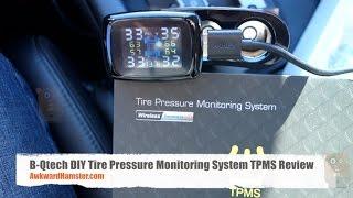 B-Qtech DIY Tire Pressure Monitoring System TPMS Review