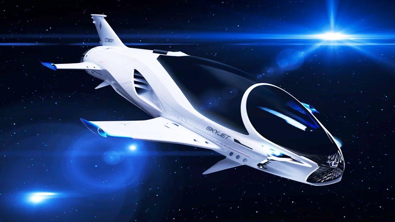 3 000 Mph Space Car Lexus Skyjet Youtube