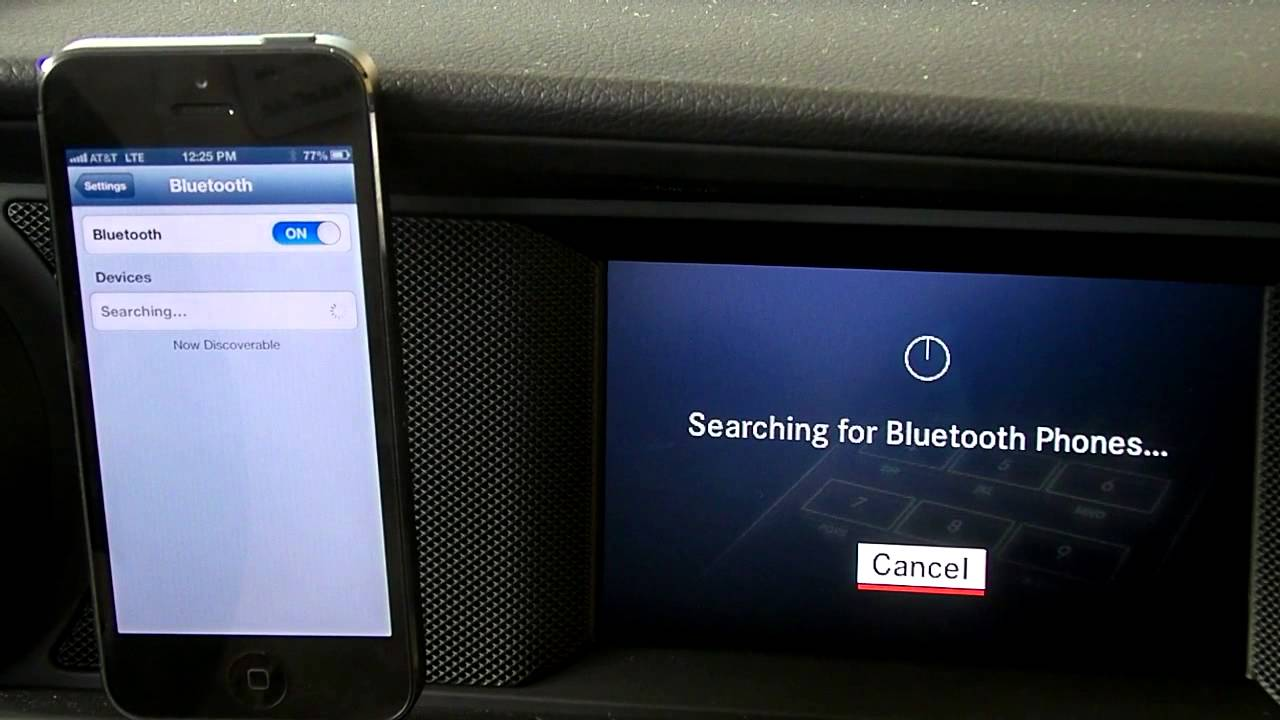 how to connect your mercedes benz to your phone using bluetooth youtube [ 1280 x 720 Pixel ]