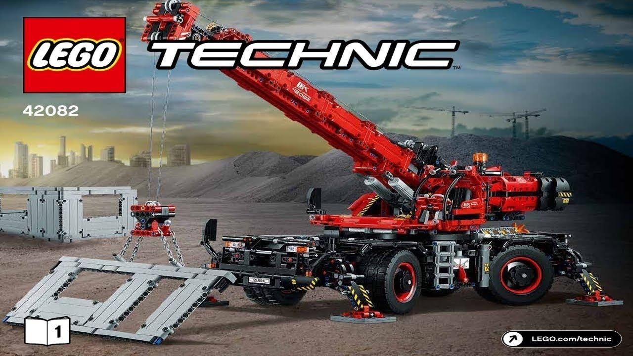 Lego Instructions Technic 42082 Rough Terrain Crane Book 1