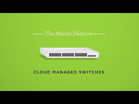 The Meraki Network: Cloud Managed Switches