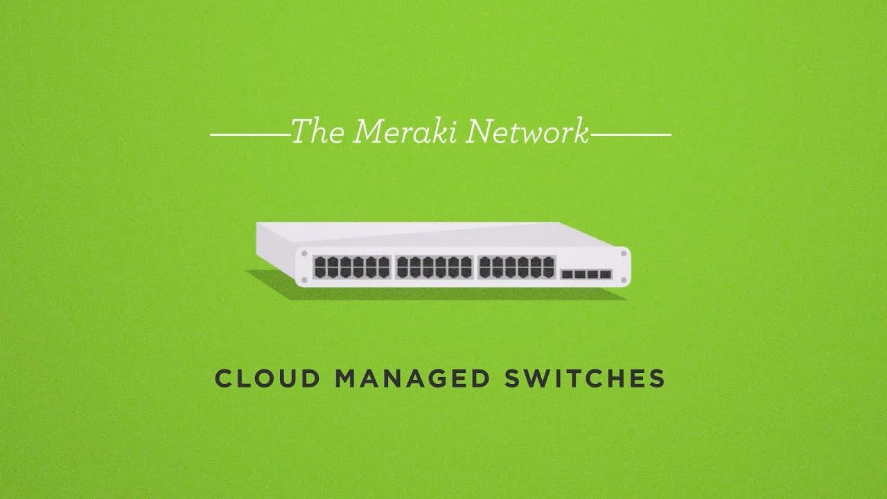 Cisco Meraki MS120 8 Ports 64Watt