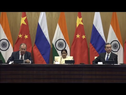 Russia-India-China Joint Press Statements (December 11, 2017)