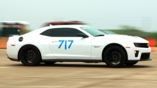 Top Speed Runs in Hennessey's Chevy Camaro ZL1 and Ford GT at the Texas Mile! - The J-Turn Episode 6