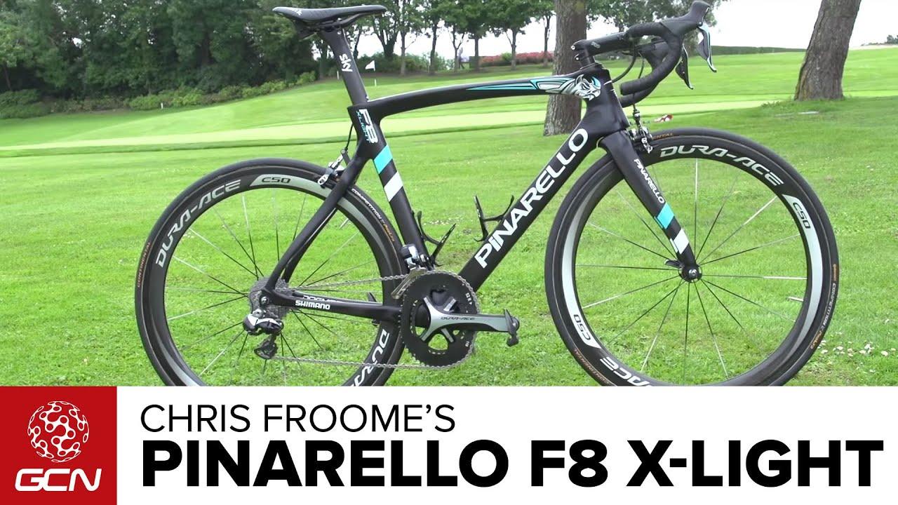 Chris Froome S New Ultralight Pinarello F8 Climbing Bike Tour De