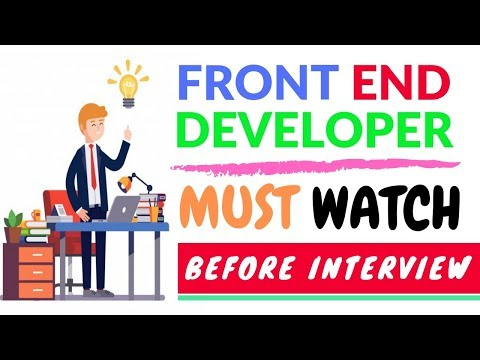 Interview Questions That Every Front End Web Developer Shoul
