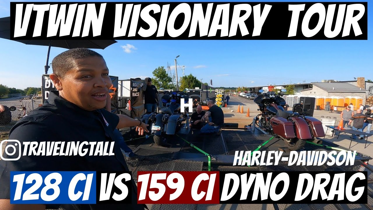 V-Twin Visionary Tour and Harley-Davidson Dyno Drags