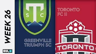 Greenville Triumph SC vs. Toronto FC II: September 20th, 2019