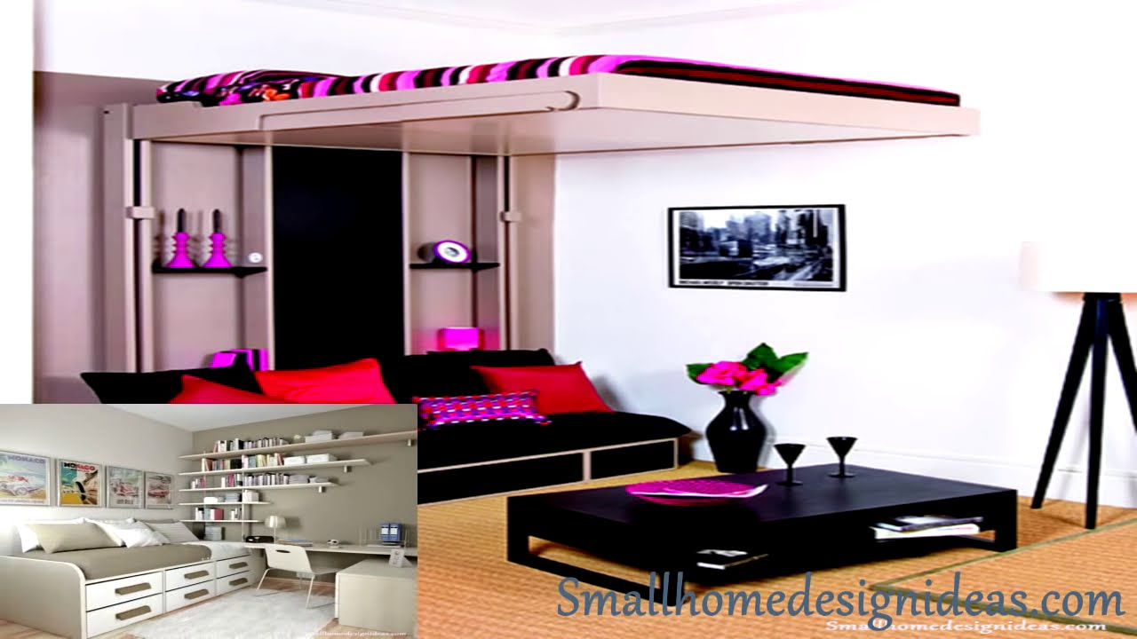 65 Bedroom Designs For Small Rooms - YouTube on Bedroom Ideas For Small Rooms  id=75738