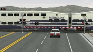 MSTS - Metrolink 852 at Santa Ana