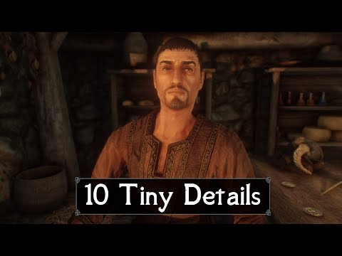 Skyrim: Yet Another 10 Tiny Details That You May Still Have Missed in The Elder Scrolls 5 (Part 45) thumbnail