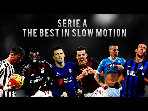 Serie A ►The best in Slow Motion - Mix | HD 50 fps