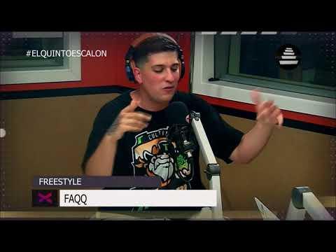 FAQQ SE SUELTA UN FREESTYLE - El Quinto Escalon Radio (11/12/17)
