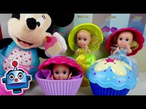 Minnie making Surprise Cupcakes