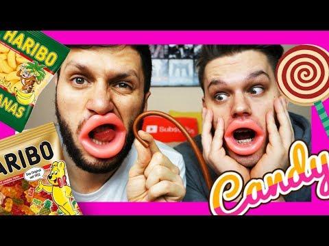 Isprobavamo gumene bombone sa gumenim ustima - with DENNIS DOMIAN