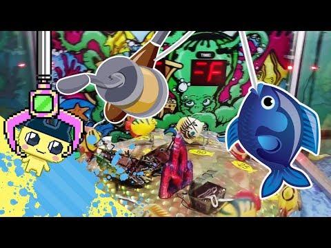 Unique Arcade FISH N FUN Machine! || (Arcade Adventures Challenge)