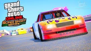 GTA Online: SA Super Sport Series - Hotring Races Gameplay