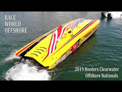 Offshore POWERBOAT Racing | Class SUPERCAT | 2019 Hooters Clearwater Offshore Nationals