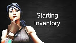 How to make a starting inventory in fortnite creative|How to add guns to creative games