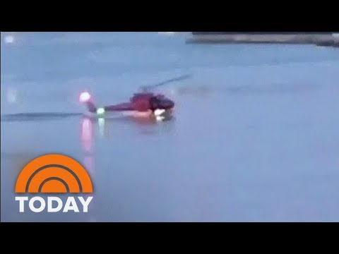 Helicopter Crash That Killed 5 In NYC Caught On Camera | TODAY