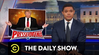 President Trump's Bats**t Press Conference: The Daily Show
