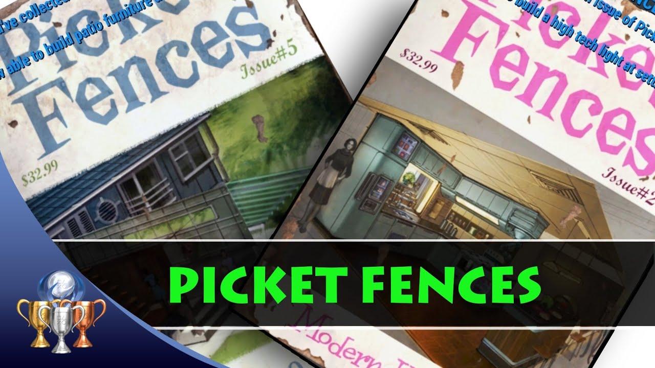 Moderne Lampen 5 : Fallout 4 # 024 picket fences heft für hightech lampen teil 2 5