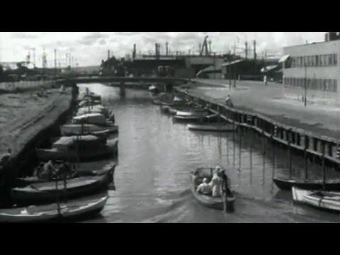 Akerselva - med filmkamera fra Puttmyrene til Vaterland, 1953