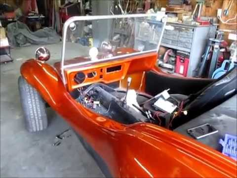 Replacing a gas tank in a fiberglass dune buggy