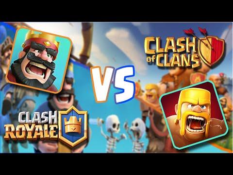 Clash of Clans VS Clash Royale (BATTLE COMPARISON)