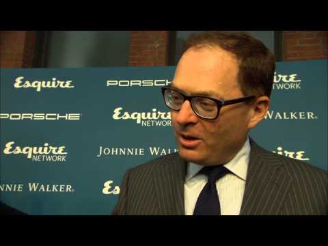 Esquire Network Launch Party: David Carey Interview