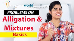 Alligation and Mixture - Problems on Alligation and Mixture -1 – Basics| Shortcuts