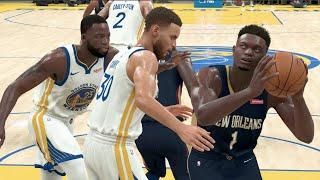 NBA 2K20 Gameplay - Golden State Warriors vs New Orleans Pelicans – NBA 2K20 PS4
