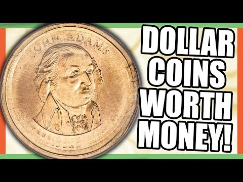 10 RARE COINS WORTH MONEY - DOLLAR COINS WORTH MONEY TO LOOK FOR!!