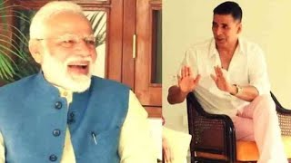Watch: PM Narendra Modi's non-political' motivational interview with Bollywood actor Akshay Kumar