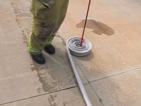Videos: Hose rolling inventions   Flashover