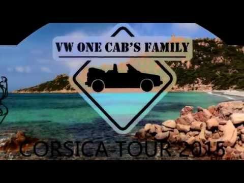 VW One Cab's Family   Corsica Tour 2015