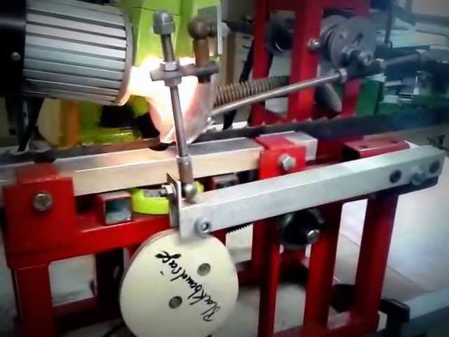 Eigebau Schärfmaschine für Sägebänder jeglicher Art